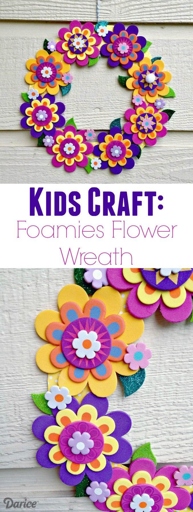 manualidades de flores con goma eva