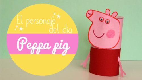Manualidades de la peppa pig
