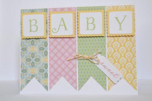 Tarjeta de colores para Baby shower de Orders.closetomyheart