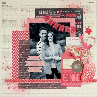 Tarjetas románticas de Scrapbooking de Pebblesincblog.