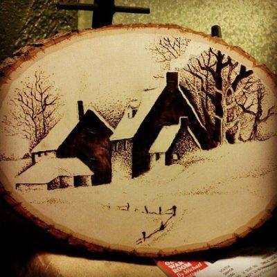 Cómo hacer pirograbado en madera