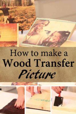 Cómo hacer transfer en madera