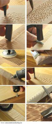 Cómo tallar madera paso a paso