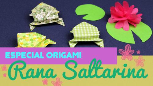ranas de origami