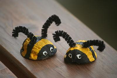 Abejitas con nueces de mamas-creativas.blogspot