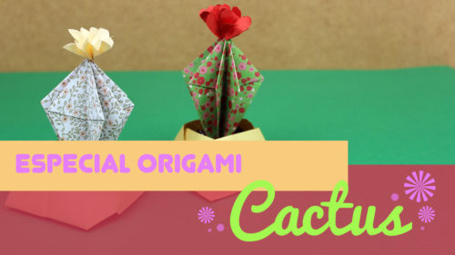 Cactus de origami