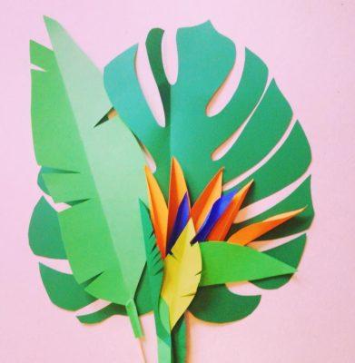 distintos tipos de hojas de papel