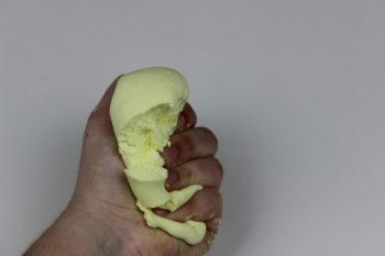 receta de slime de mantequilla