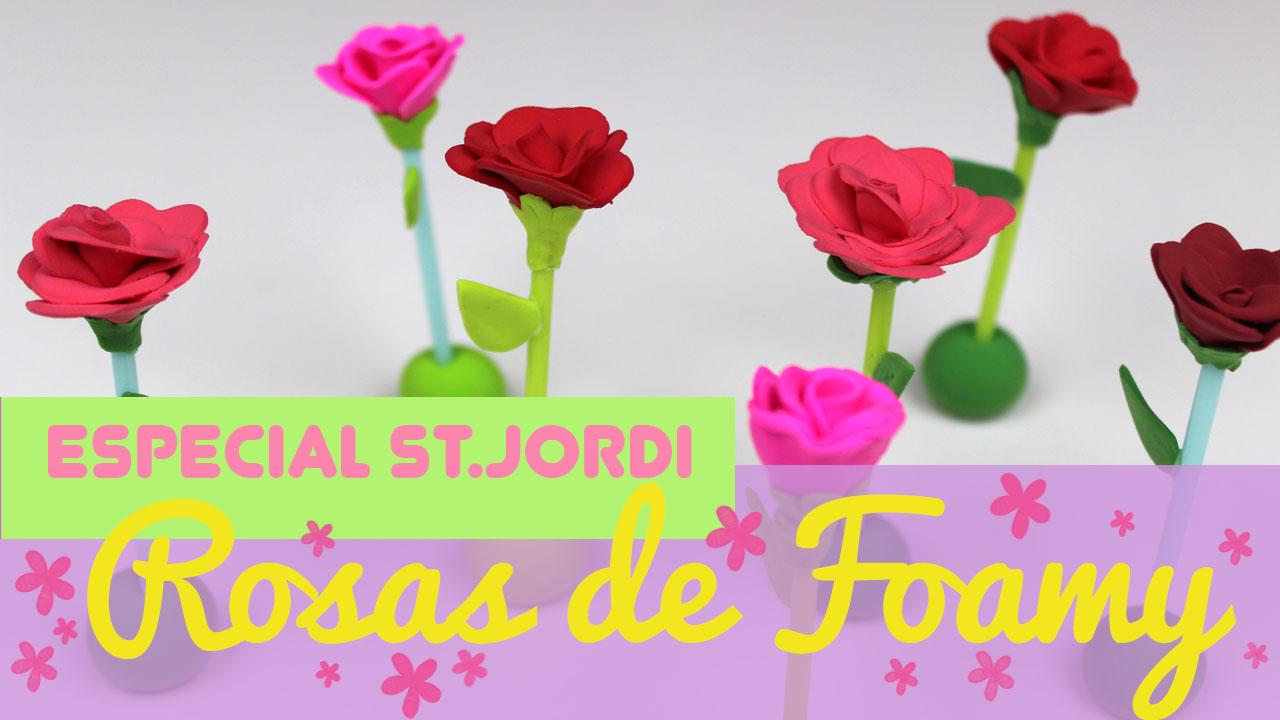 Rosas De Sant Jordi Top 2019 Uma Manualidades