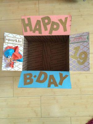 cajas sorpresas para cumpleaños