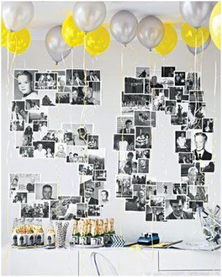Idea para decorar con fotos