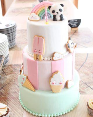 Ideas de tartas para fiestas Kawai
