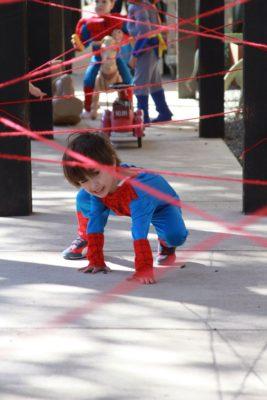 Juegos de Spiderman para fiestas de súperheroes.