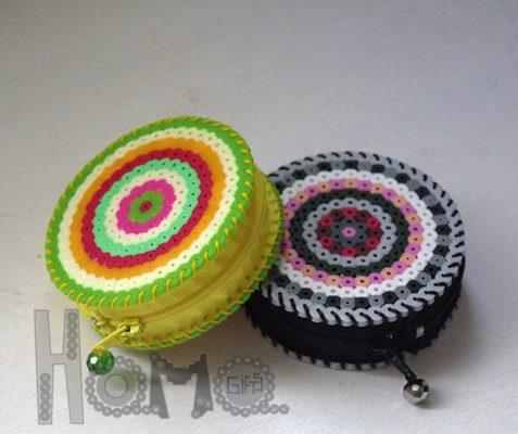 Monederos molones con HammaBeats de hamagifts.blogspot.com