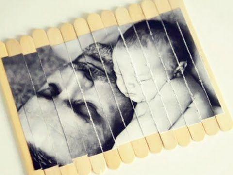 Regalo con fotos para el día del padre