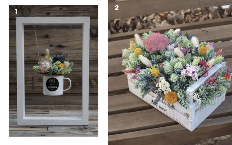 Mas De 50 Manualidades Con Flores Artificiales Top 2019