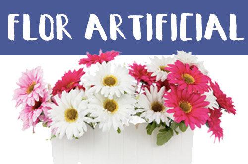 Manualidades con flores artificiales