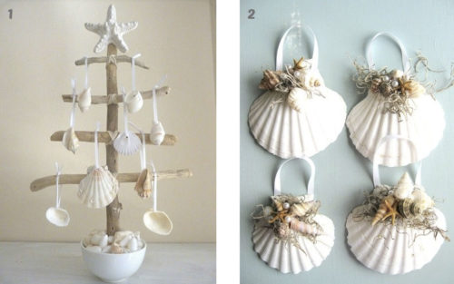 Manualidades con conchas de mar