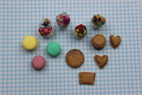dulces de arcilla polimerica
