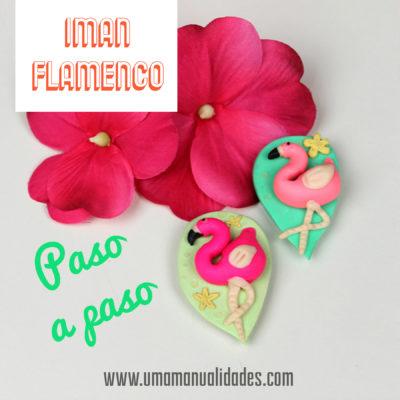 flamencos de arcilla polimerica