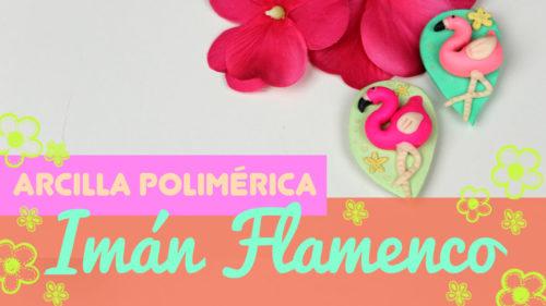 Flamencos de fimo