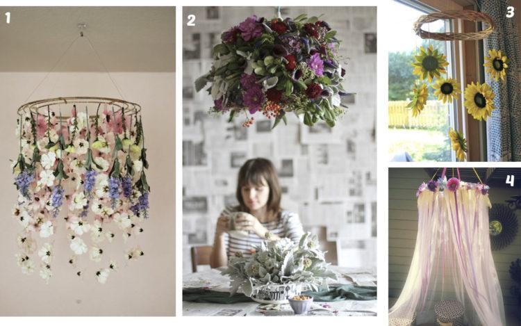 Mas De 50 Manualidades Con Flores Artificiales Top 2019