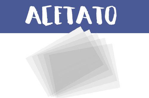 Manualidades con acetato