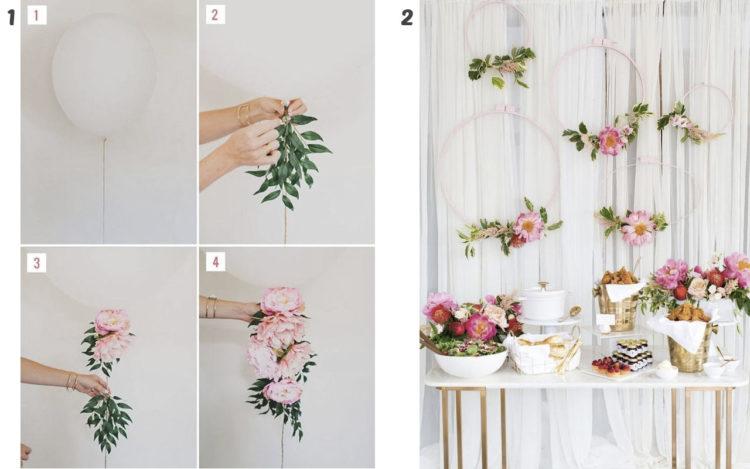 Mas De 50 Manualidades Con Flores Artificiales Top 2018 - Manualidades-con-flores-artificiales