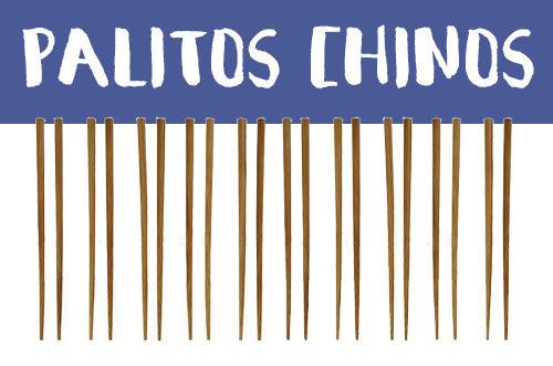 Manualidades con palillos chinos