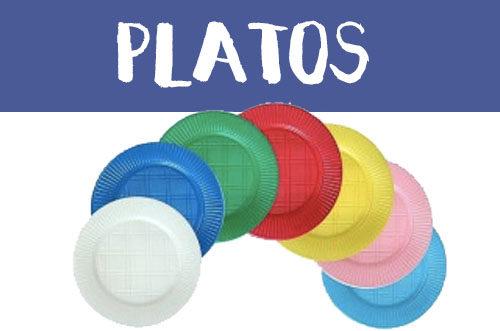 Manualidades con platos de plástico