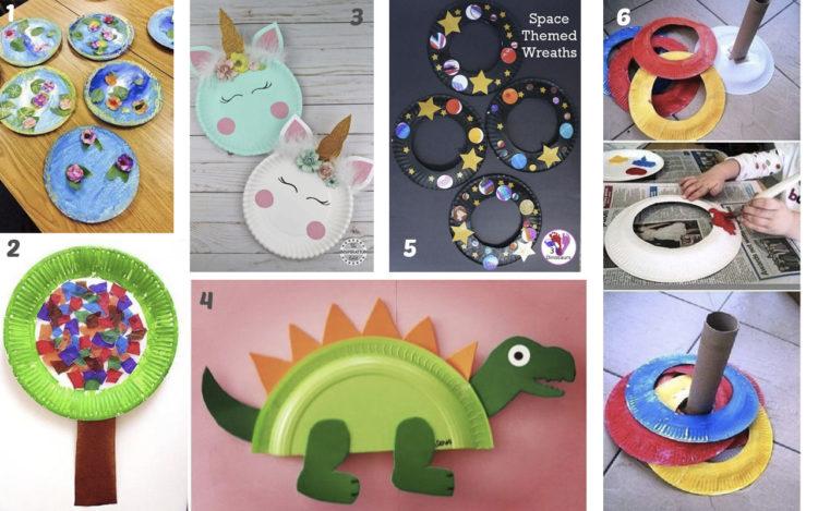 59 Ideas De Manualidades Con Platos De Plastico Top 2019