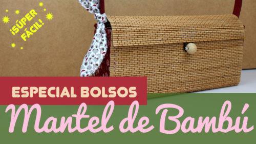 bolso de bambu DIY