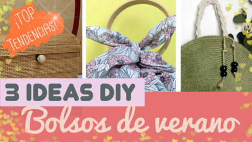 15 fantásticas manualidades de bolsos de verano