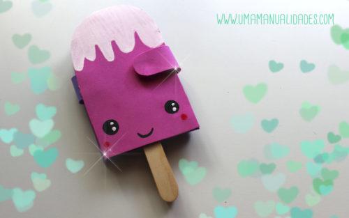 helados kawaii paso a paso