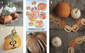 Manualidades de halloween con papel