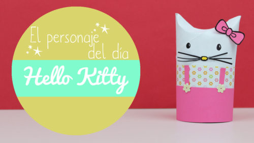 manualidades de la hello kitty