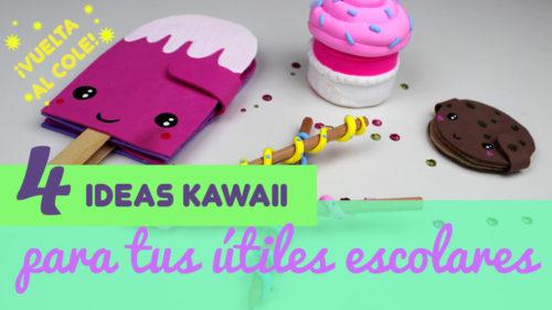 Utiles escolares kawaii