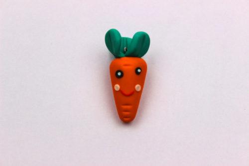 zanahoria de fimo