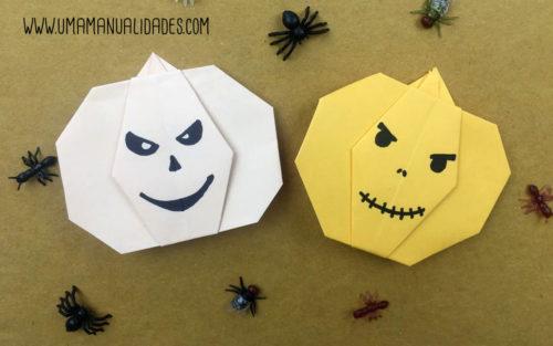calabazas origami