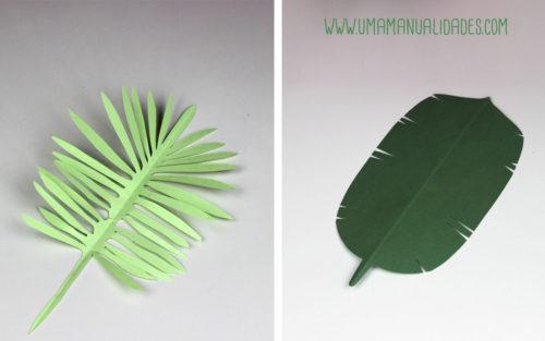 como hacer hojas de papel