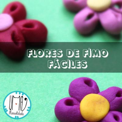 flores con arcilla polimerica
