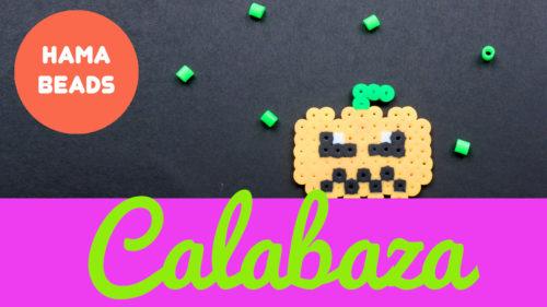 Hama beads de Calabaza