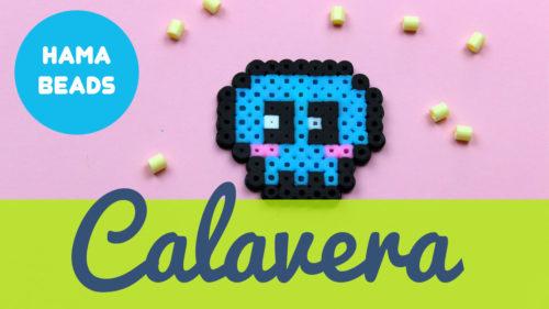 Hama beads de Calavera