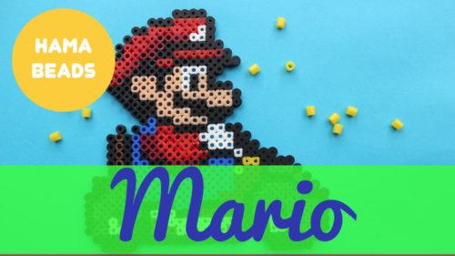 Hama beads de super Mario