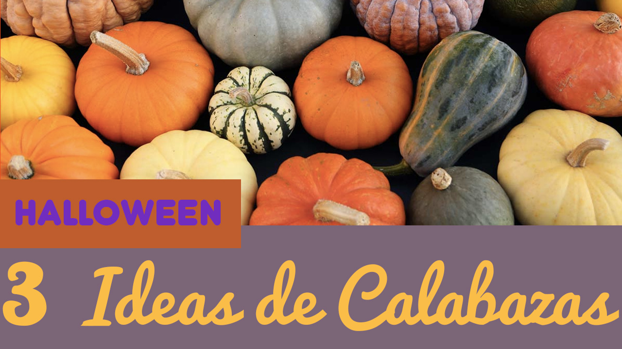 Manualidades De Calabazas De Halloween