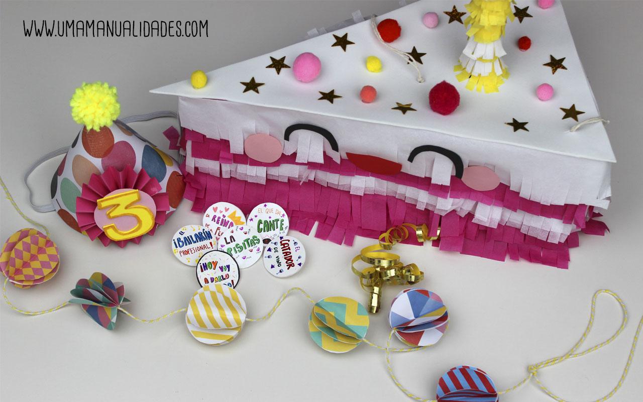 11 ideas f ciles y originales de manualidades para fiestas for Manualidades decoracion infantil