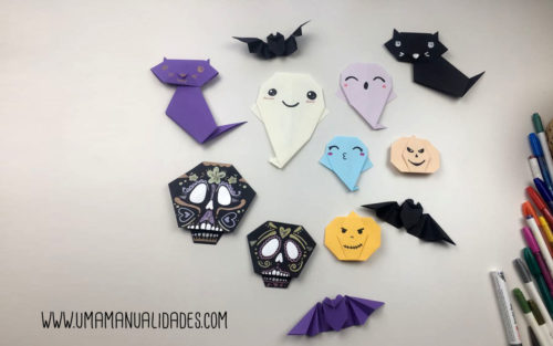 Origami de halloween