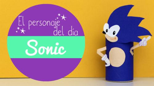 manualidades de Sonic