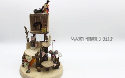 casita de muñecas diy