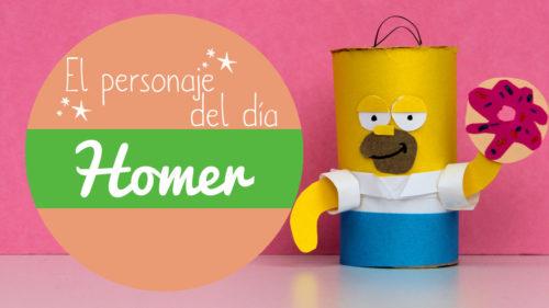 manualidades de Homer Simpson
